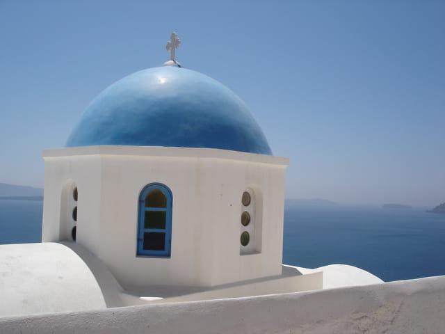 La grèce en bleu & blanc