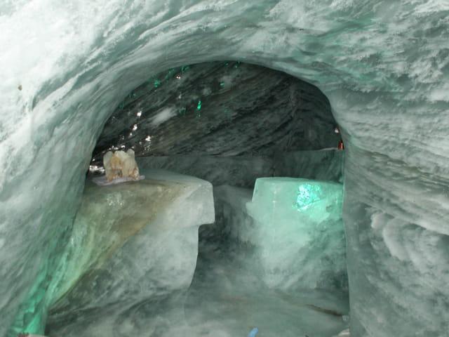 La grotte de glace