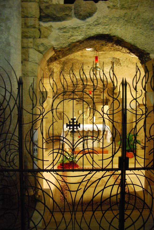 la grotte de l'Annonciation
