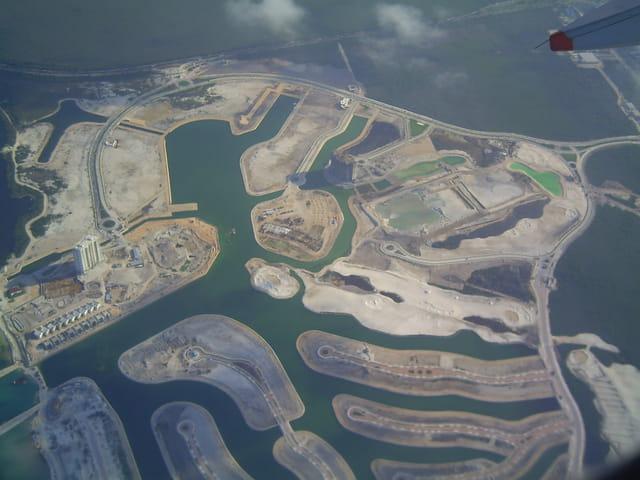 La lagune de Cancun