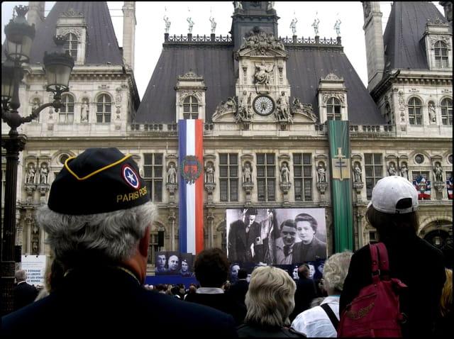La Libération de Paris célébrée en 2010