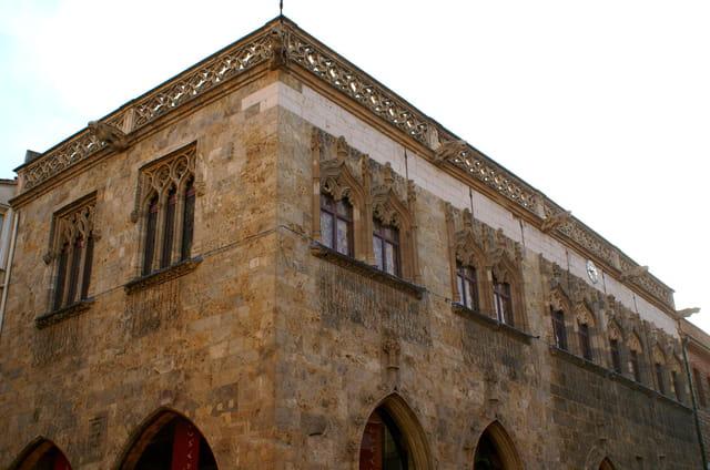 La loger de mer style gothique