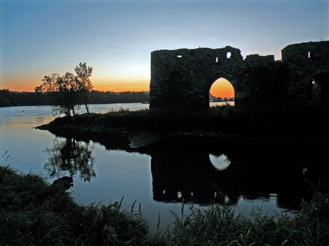 La Loire,un matin de Juillet