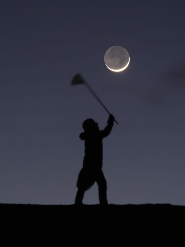 La Lune prise au filet