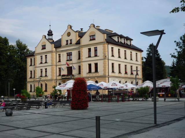 La mairie  à Ustron