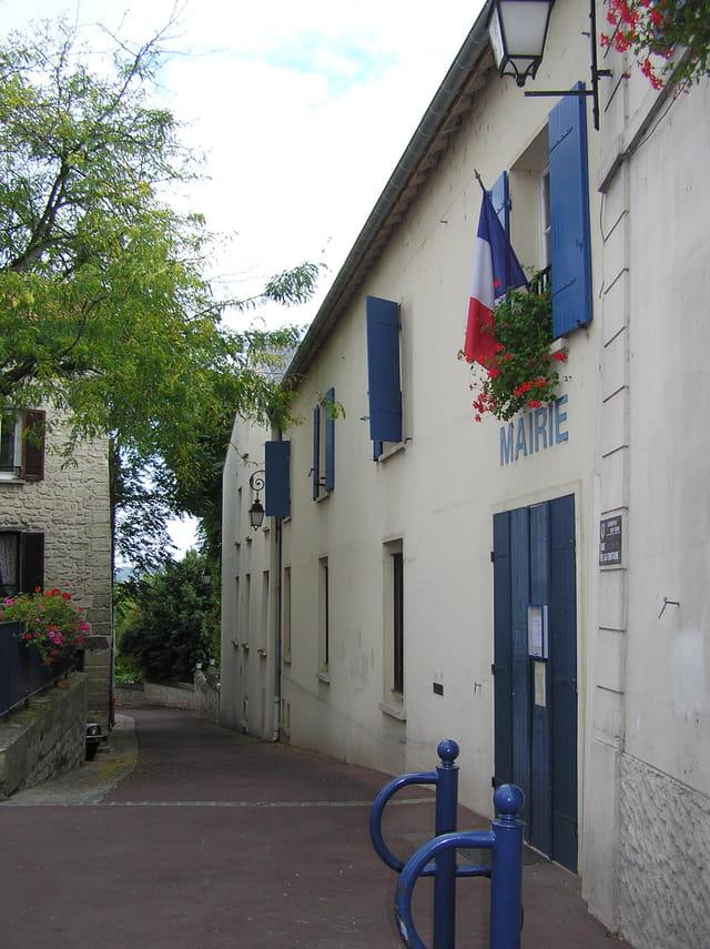La mairie de Carrières-sur-Seine