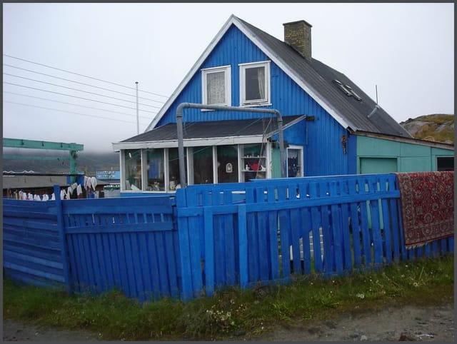 La maison... bleue