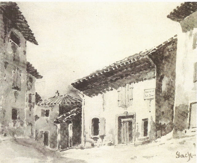 La maison de Félicien David, à Cadenet, au XIXème siècle