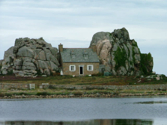 La maison falaise