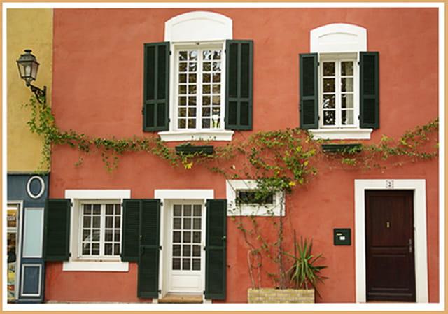 La maison ocre par flor al ibanez sur l 39 internaute for Couleur facade maison sud