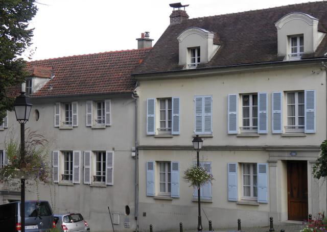 La maison ou a vécu Ludovic Halevy, au Pecq