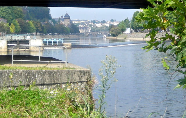 La Mayenne à LAVAL