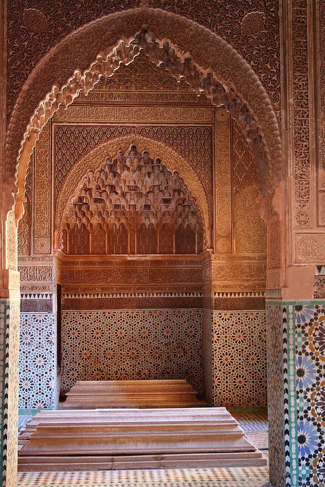 Tombeaux saadiens de marrakech