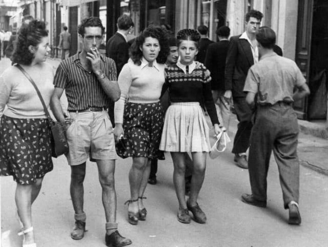 La mode après guerre