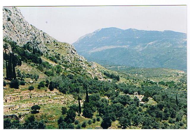 la montagne de Delphe