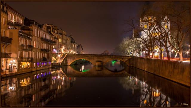 La Moselle à Metz