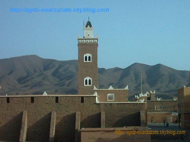 La mosquée de Agdz