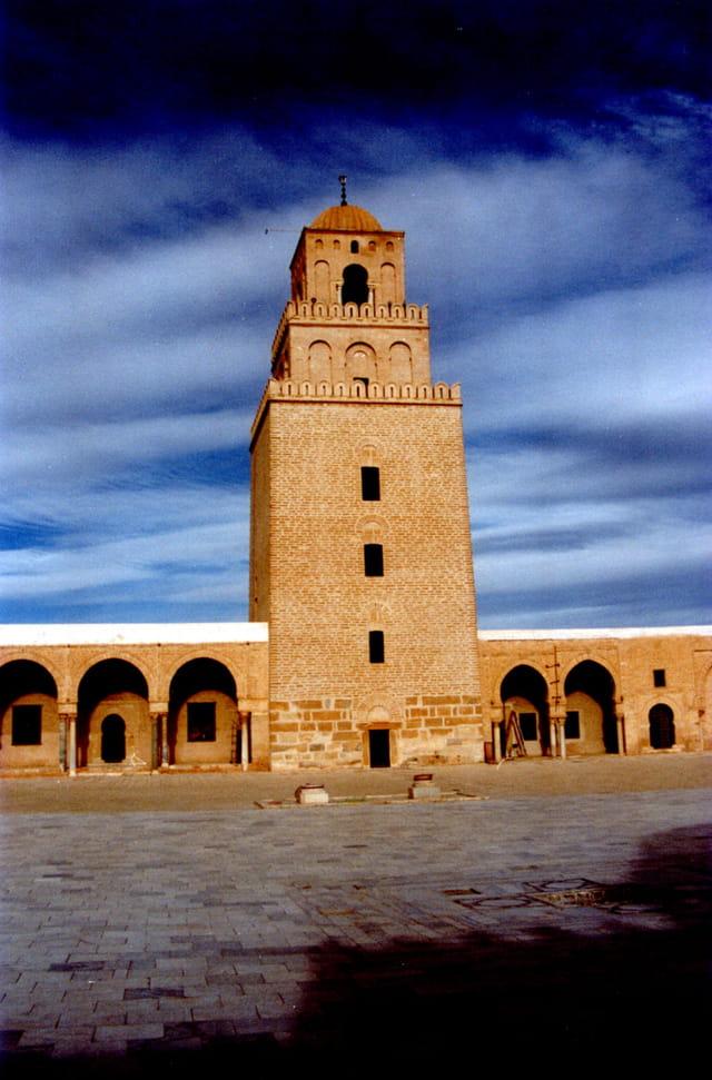 La mosquée de Okaba Ibn Nafaa