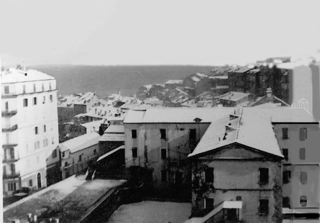 La neige à Bastia