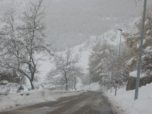 La neige arrive ouf