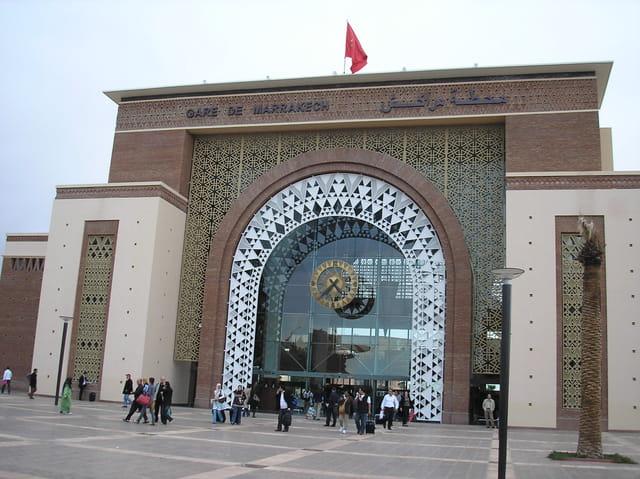 La nouvelle gare de Marrakech