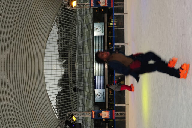 la patinoire des Guillemins