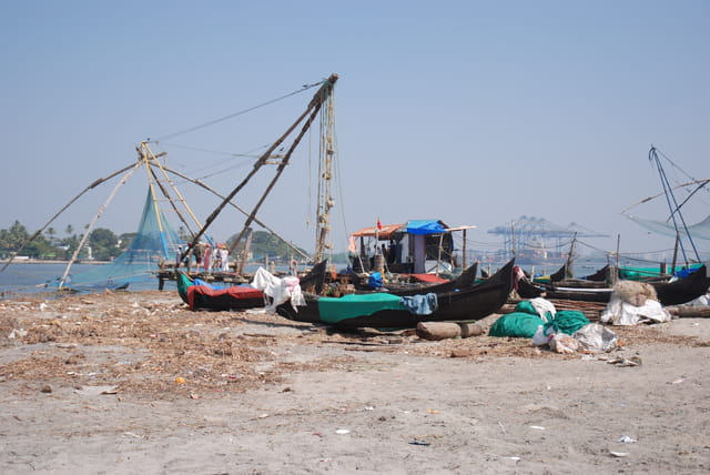 la pêche à Cochin