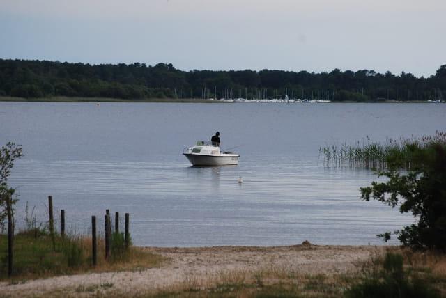 la pêche sur le lac