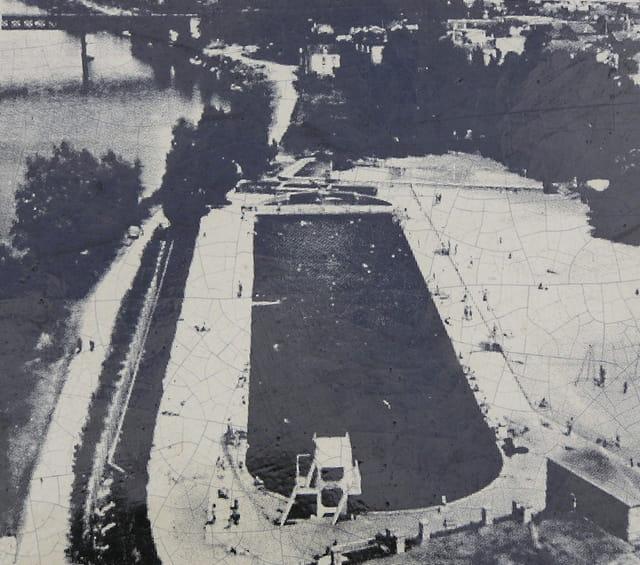 La piscine du pecq 1934 1962 par g rard robert sur l for Piscine le pecq