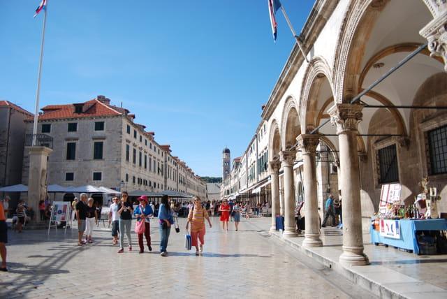 la Placa, artère principale de Dubrovnik