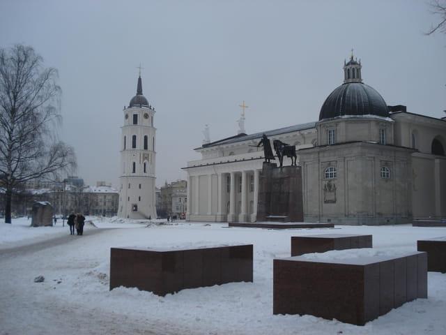La place Gediminas