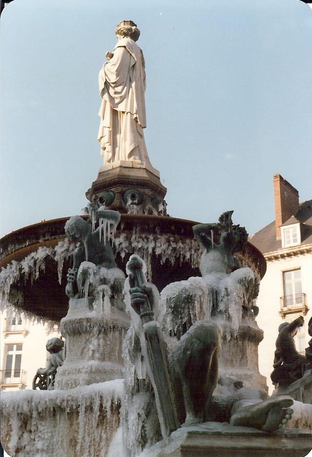 La place royale à froid