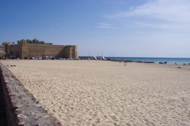 La plage au mois d'aout