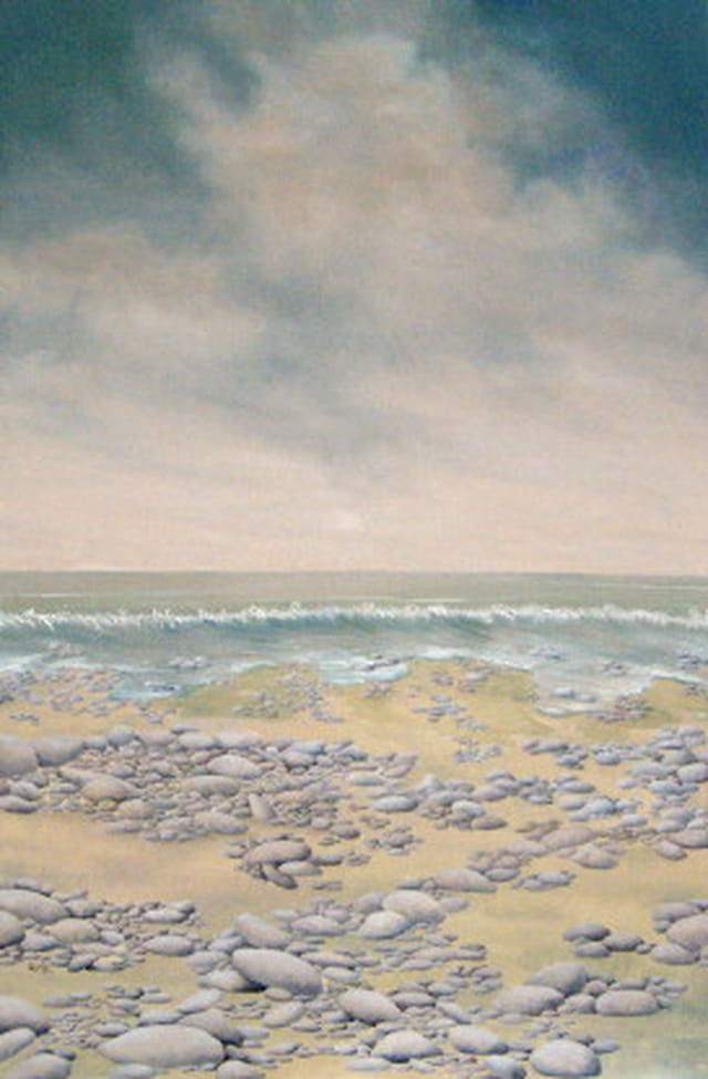 La plage de galets