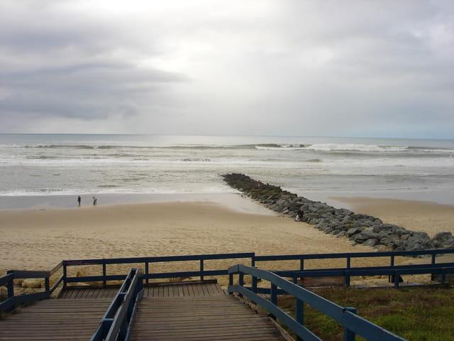La plage de Lacanau