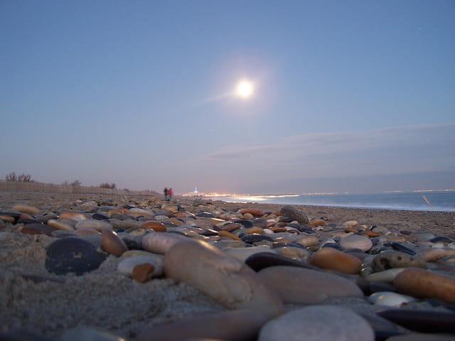 La plage de Palavas les flots