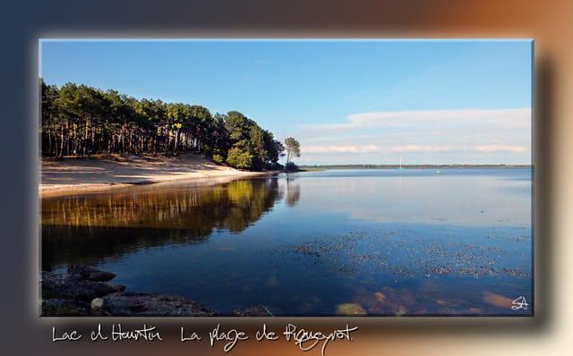 La plage de Piqueyrot......