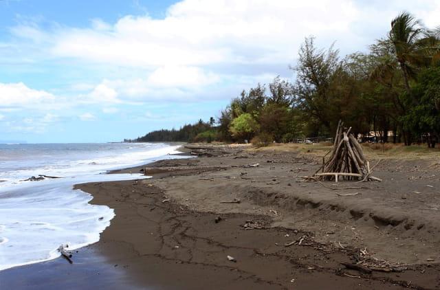 La plage de Waimea!