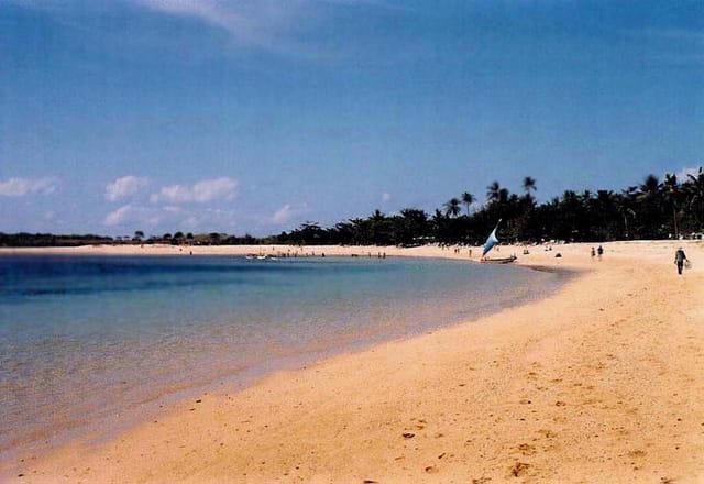 La plage privée du Nusa dua beach