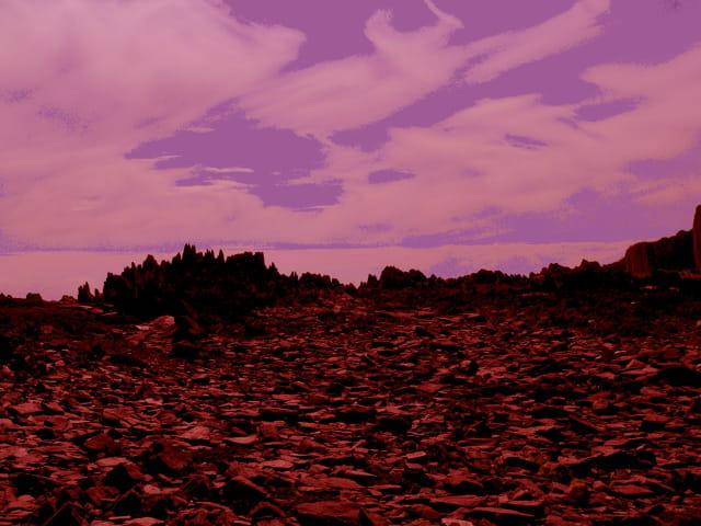 La planete rouge ?