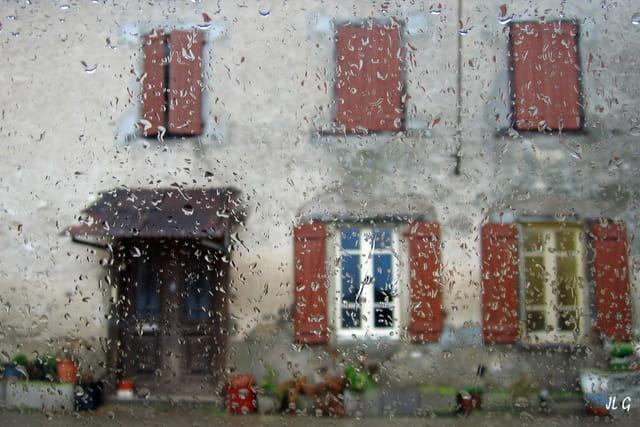 La pluie...