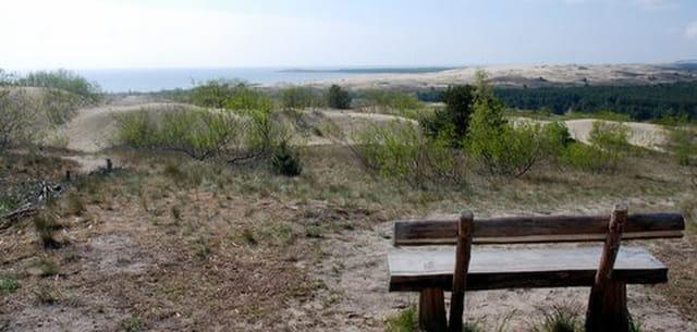 la plus haute dune d'Europe du nord