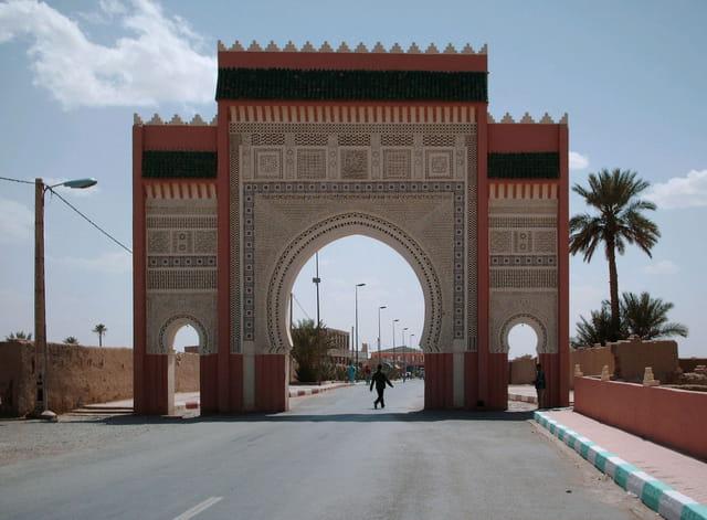 La porte du desert sud-est