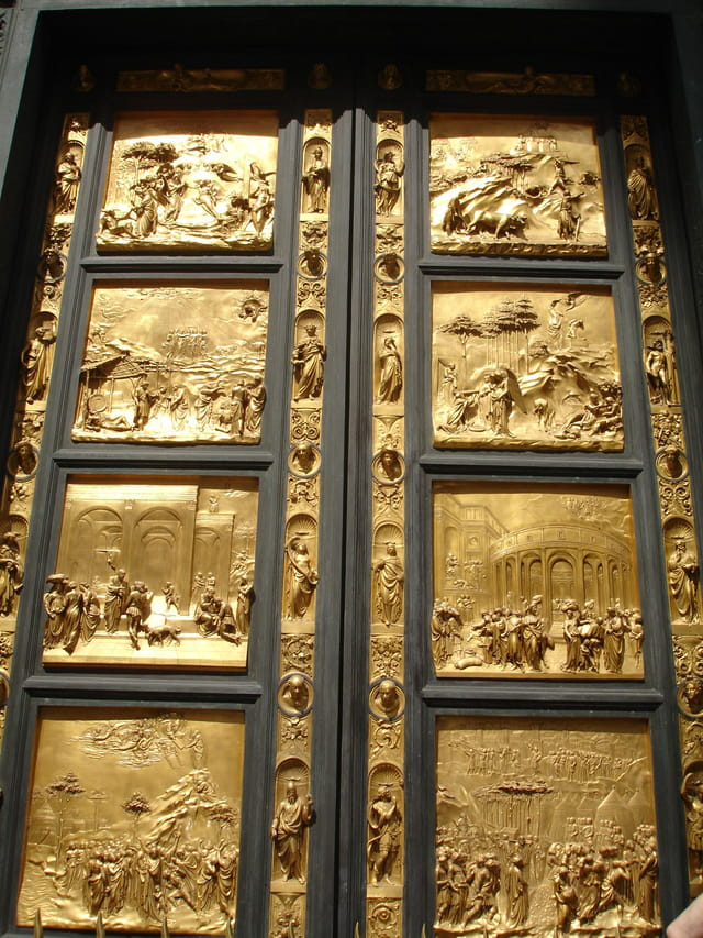 La porte du paradis...