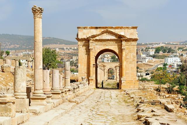 La Porte Nord de Jerash