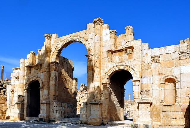 La Porte Sud de Jerash