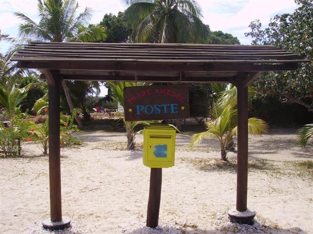 La poste du Phare Amédée (Nouvelle Calédonie)