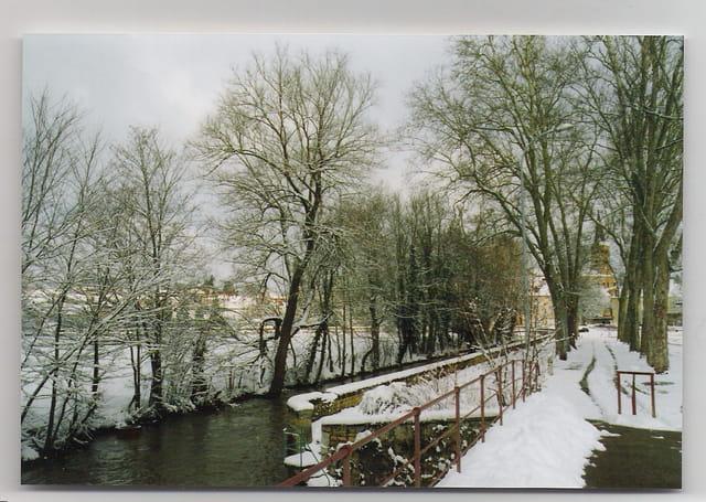 La Promenade en blanc manteau