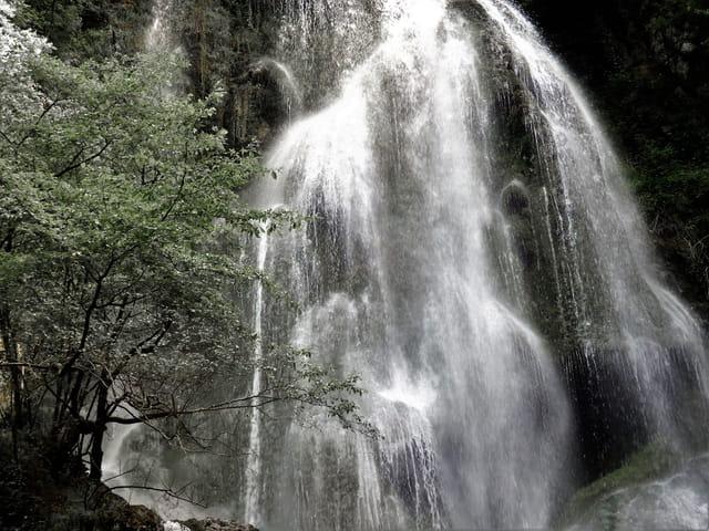 La puissance et la beauté de l'eau