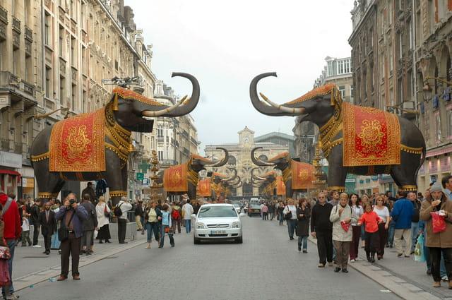 La rambla des éléphants